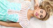 dress,blue,detailed,lace,woven,pattern,bust,light blue,aqua,turquoise,white