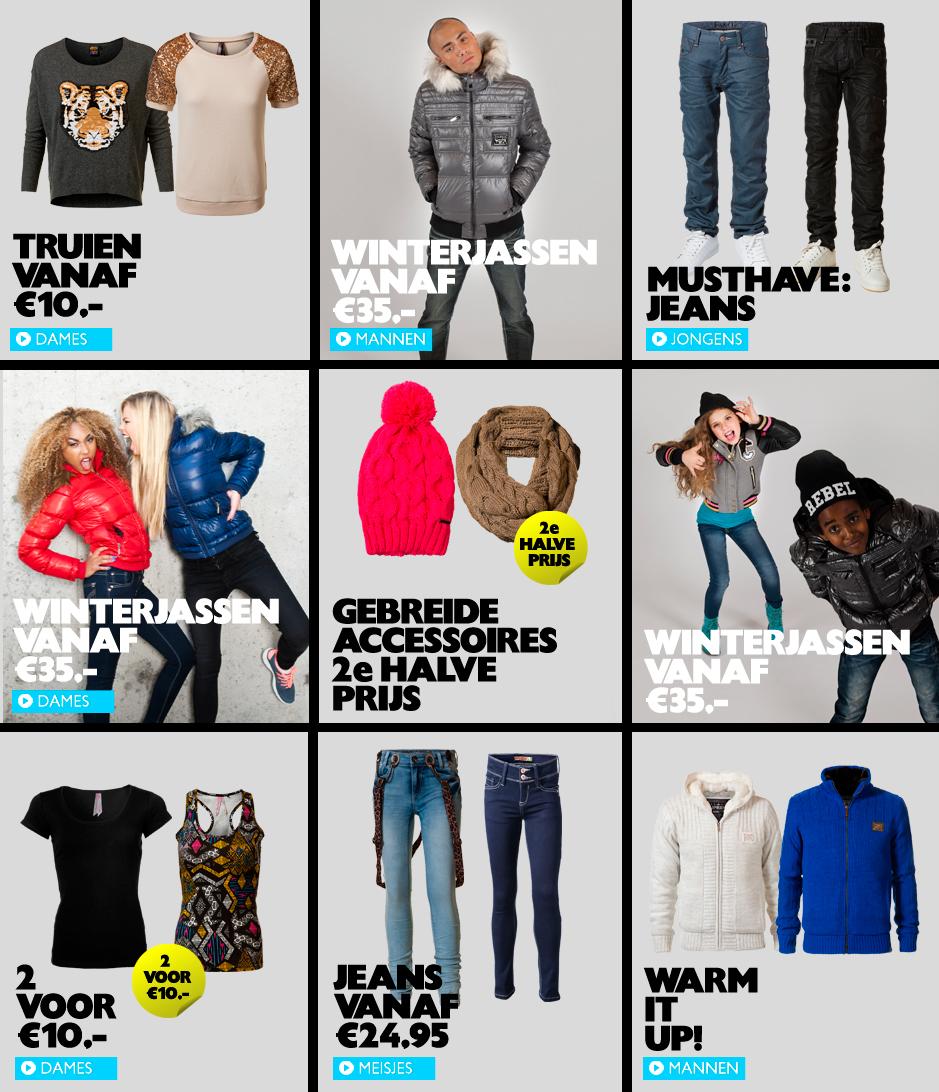 Kleding en kinderkleding goedkoop, online shoppen bij Coolcat