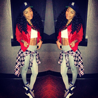 pants celebrity crop tops jordans jacket hairstyles hat