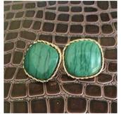 jewels,earings,green