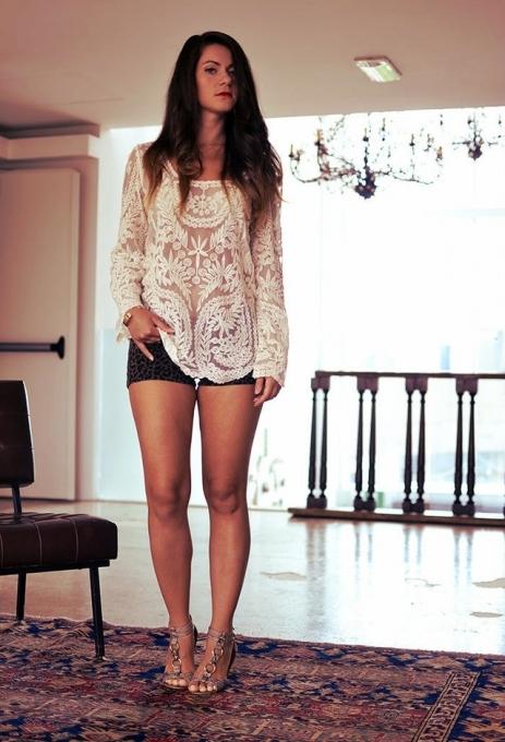 Lethalbeauty ? lace crochet top