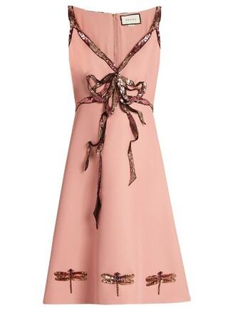 dress bow sleeveless light pink light pink