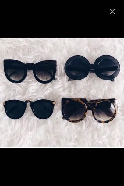 sunglasses cool fancy cat eye