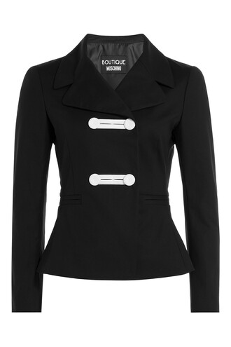 blazer cotton black jacket
