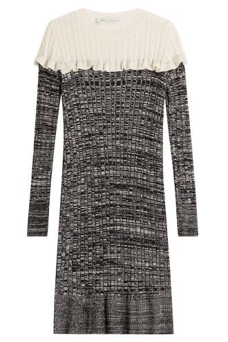 dress wool grey