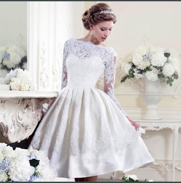 dress white short dress flare dress wedding hipster off-white wedding dress sequin dress flare lace dress