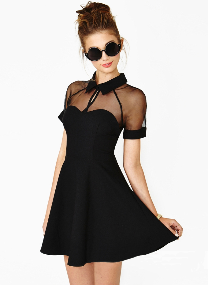 NET SEXY DRESS / ianlaynedesigns