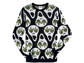 sweater,adidas,jeremy scott,skull,original,sweat,adidas originals,pull,top,black,white,green,ghost,FIND IT,internet,site internet