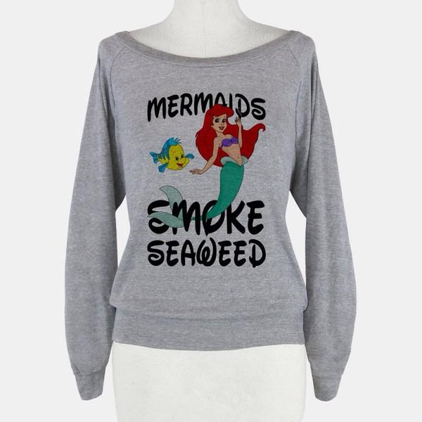 disney weed mermaid