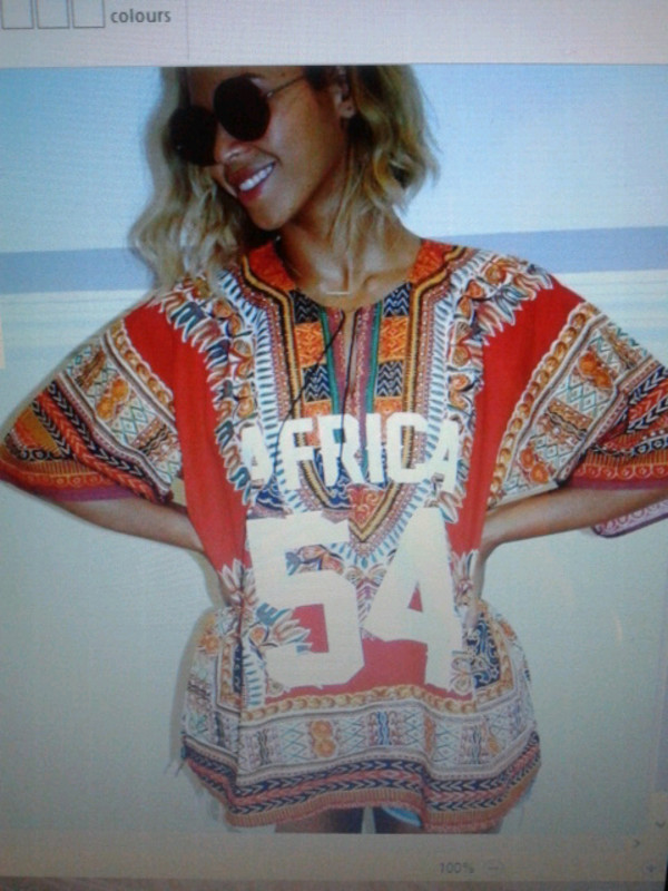 t-shirt beyonce africa tribal top tribal pattern