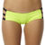 SURFSTITCH - WOMENS - BOUTIQUE COLLECTION - SWIMWEAR - SHAKUHACHI CONTRAST PANELLED MULTI STRAP SEPARATE BOTTOM - ACID LIME BLACK
