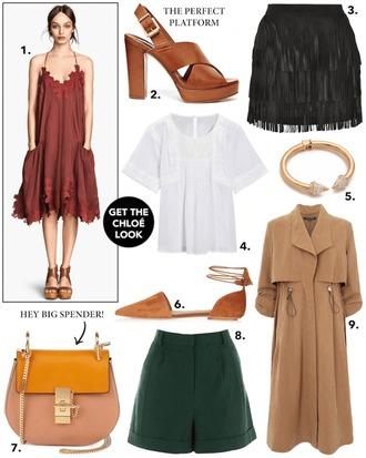 cocos tea party blogger dress shoes skirt top jewels bag shorts coat