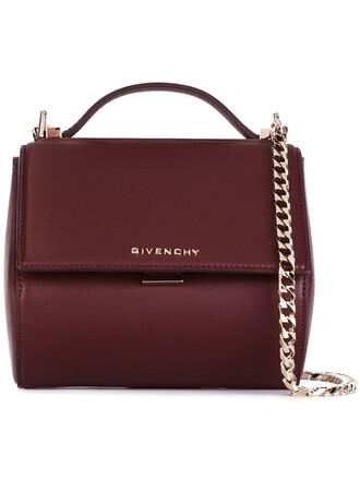 mini metal women bag shoulder bag leather red