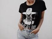 shirt,liza koshy,black t-shirt,beyonce shirts