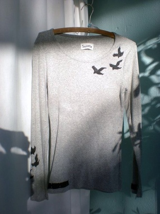 blouse divergent dauntless sign diveregent sweater grey top grey sweater