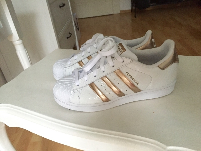 adidas superstar damen gold glitzer