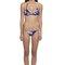 Micro triangle bikini set - dora palm royal