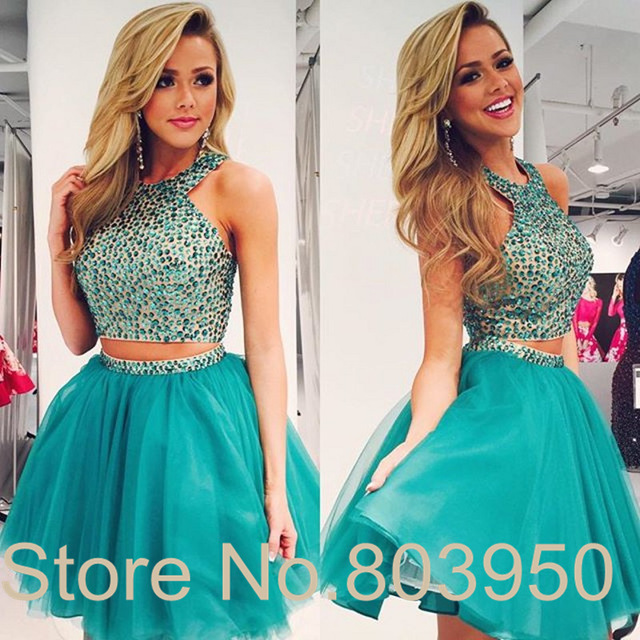 Aliexpress Buy Crop Top Homecoming Dress Mini 8th Grade Prom