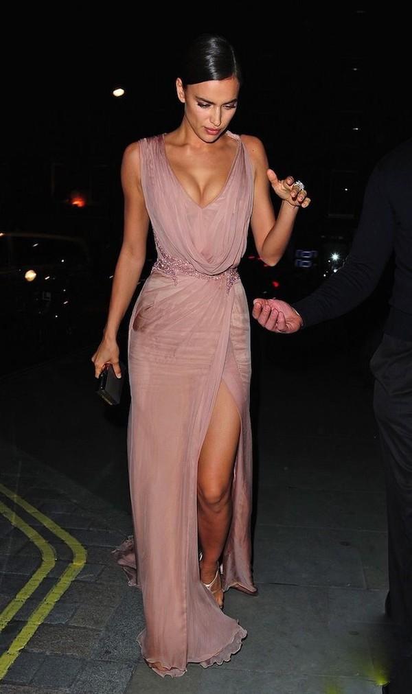 Light Pink Rose Prom Dresses
