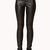 Faux Leather Panel Leggings | FOREVER21 - 2077895295