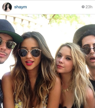 sunglasses shay mitchell coachella