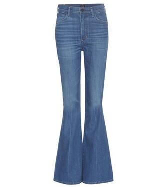 jeans high blue