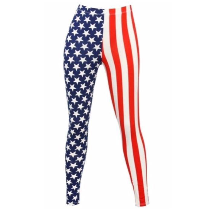 Stars and stripes leggings · radtrash ·