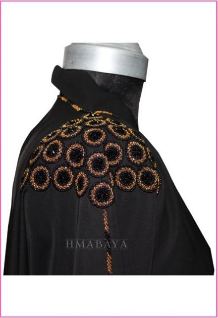 Embroidery Designs Black Women Abaya