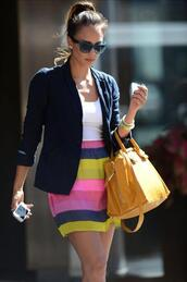 skirt,striped skirt,multicolor,colorful