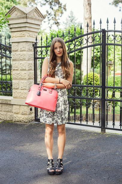 iemmafashion dress shoes bag jewels floral