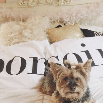 home accessory bonsoir pillow gabriella demartino black and white