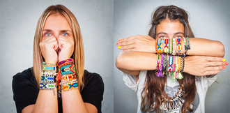 jewels colorful bracelets jewell
