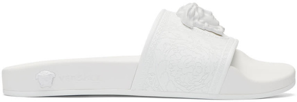 pool white shoes