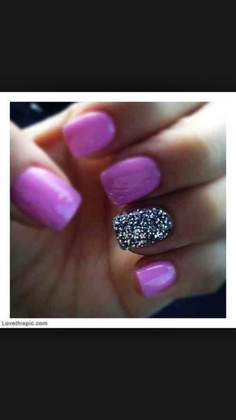 nail polish style nails jewels