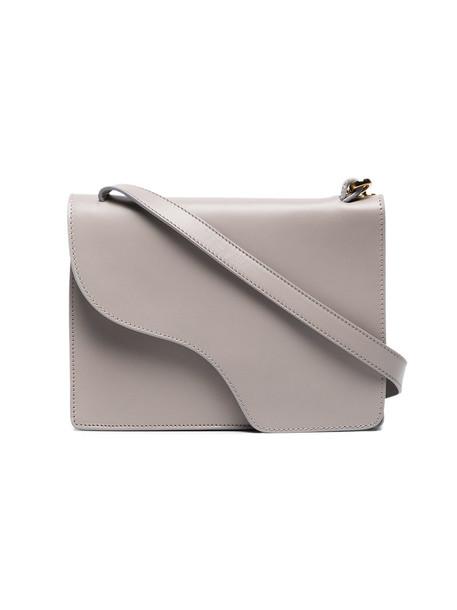 ATP Atelier cross women bag leather grey