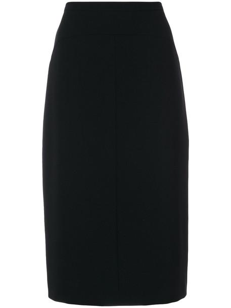 Max Mara Studio skirt women black