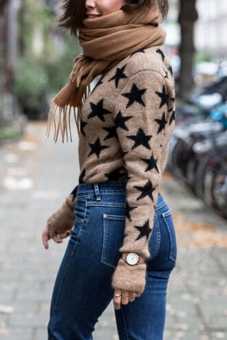 after drk blogger jewels sweater jeans