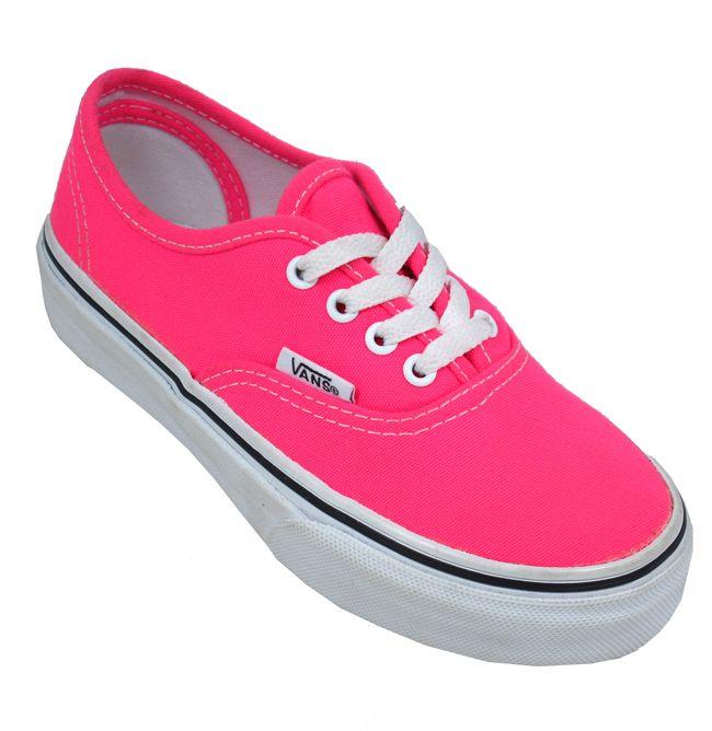 Vans Authentic Neon Pink for Kids | Landau Store