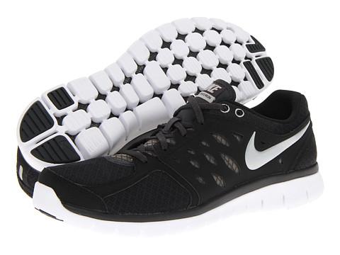 Nike Flex 2013 Run Black/Anthracite/White/Metallic Silver - Zappos.com Free Shipping BOTH Ways