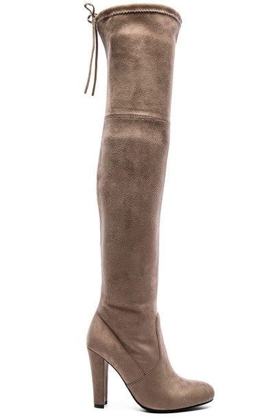 boot gorgeous taupe