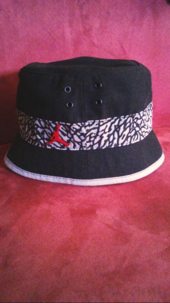 hair accessory bucket hats air jordan
