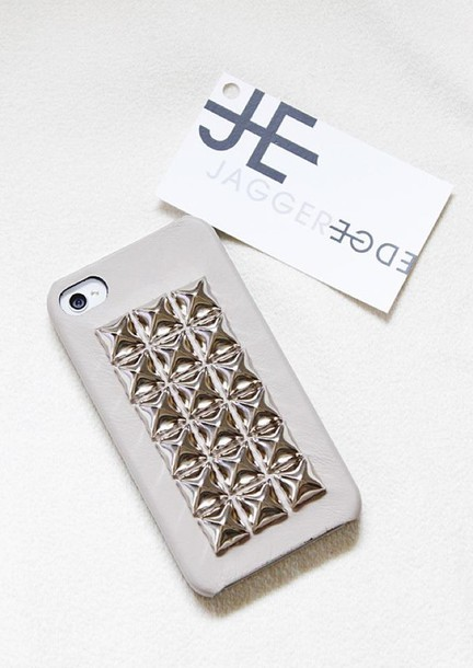 bag studded iphone cover jagger edge