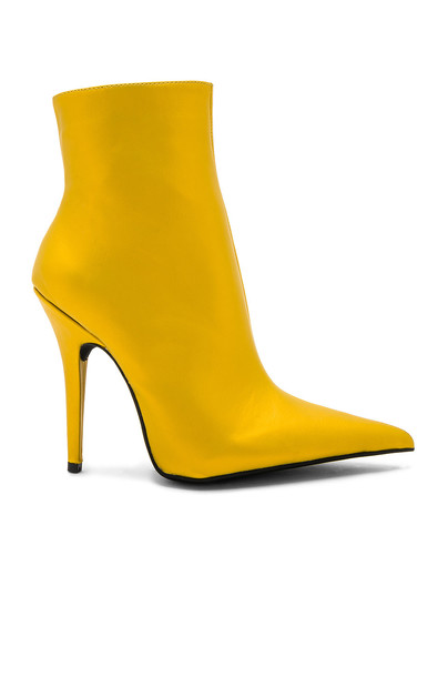 Jeffrey Campbell yellow shoes