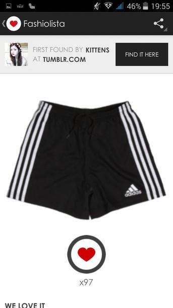 shorts adidas noir