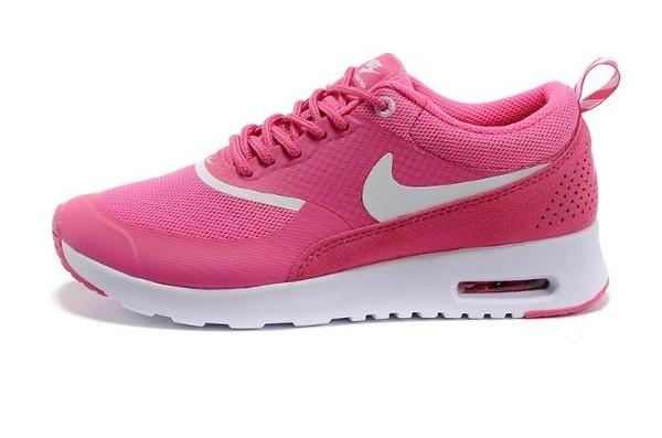 nike air max thea pink foil white