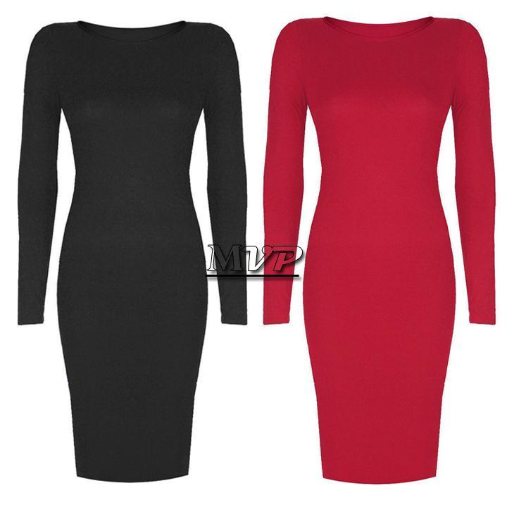 Basic long sleeve bodycon dress · summah breeeze · online store powered by storenvy