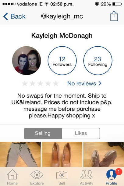 bag follow my depop to get some bargains guys x