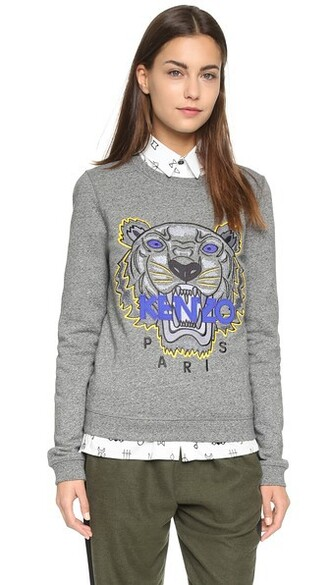 pullover tiger sweater