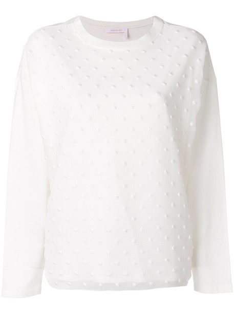 See by Chloe top women white cotton