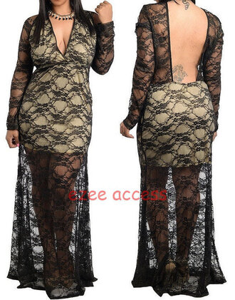 dress sexy plus size maxi dress womens plus size dress backless maxi dress black little dress sheer maxi dress lace dress nude lace dress black lace fit long sleeves dress plus size prom dress floral lace dress plus size sexy dress plus size sexy clothing evening dress 2015 prom dresses 2015 discount wedding dresses cheap chic prom dress cheap gown for homecoming